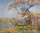 Apple Trees in Bloom Old Lyme 1904 - Childe Hassam reproduction oil painting