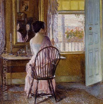 Morning Light 1914 - Childe Hassam reproduction oil painting