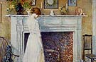 In the Old Houes 1914 - Childe Hassam reproduction oil painting