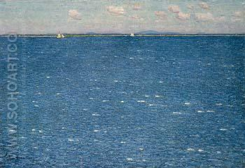 The West Wind Isles of Shoals 1904 - Childe Hassam reproduction oil painting