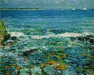 Duck Island from Appledore 1911 - Childe Hassam reproduction oil painting