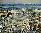 Surf Isles of Shoals 1913 - Childe Hassam reproduction oil painting