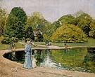 Central Park 1892 - Childe Hassam reproduction oil painting