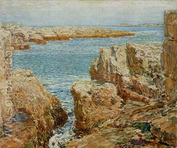 Coast Scene Isles of Shoals 1901 - Childe Hassam reproduction oil painting