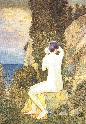 Aphrodite - Childe Hassam reproduction oil painting