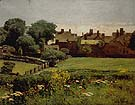 Village Scene 1883 - Childe Hassam reproduction oil painting