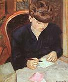 The Letter - Pierre Bonnard