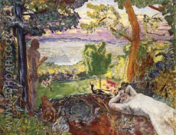 Earthly Paradise - Pierre Bonnard reproduction oil painting