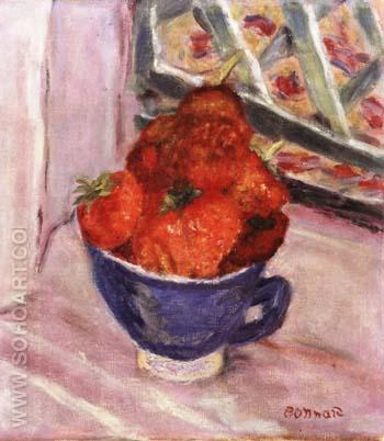 Strawberries - Pierre Bonnard reproduction oil painting