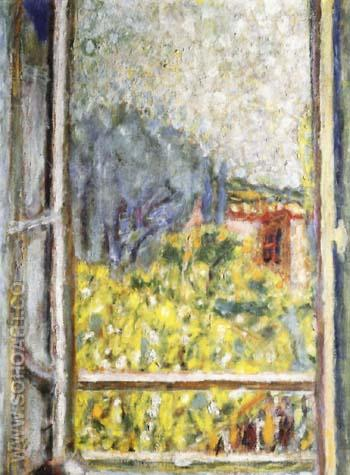 The Small Window - Pierre Bonnard reproduction oil painting