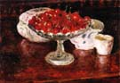 Bowl of Cherries - Pierre Bonnard reproduction oil painting