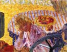 Young Woman in the Garden (Renee Monchaty and Marthe Bonnard) 1921 - Pierre Bonnard reproduction oil painting