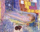 Nude in Bathtub 1941 - Pierre Bonnard reproduction oil painting