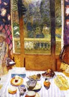 The Breakfast Room 1930 - Pierre Bonnard reproduction oil painting