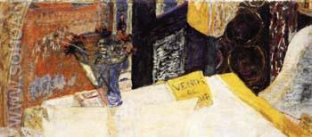 Still Life with Bouquet of Flowers or Venus and Cyrene - Pierre Bonnard reproduction oil painting