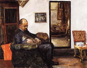 Portrait of Ambroise Vollard 1906 - Pierre Bonnard reproduction oil painting