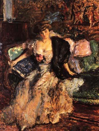 Misia - Pierre Bonnard reproduction oil painting