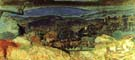 Landscape at Le Cannet 1928 - Pierre Bonnard reproduction oil painting