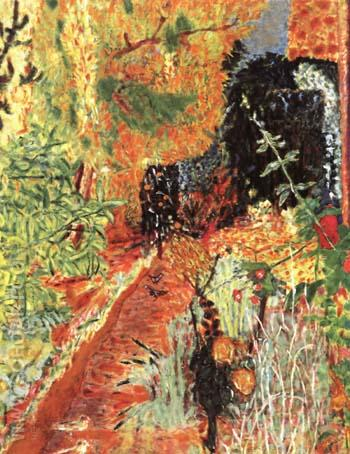 The Garden 1983 - Pierre Bonnard reproduction oil painting