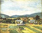 Landscape in Lower Austria 1907 - Egon Scheile reproduction oil painting