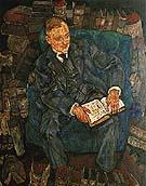 Portrait of Dr. Hugo Koller 1918 - Egon Scheile reproduction oil painting