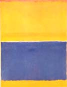 Untitled Yellow and Blue 1954 - Mark Rothko