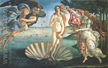 Birth of Venus - Sandro Botticelli reproduction oil painting