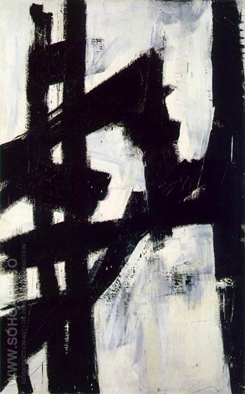 New York 1953 - Franz Kline reproduction oil painting