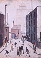 Industrial Scene 1953 - L-S-Lowry