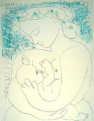 Motherhood - Pablo Picasso reproduction oil painting