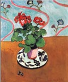 Geraniums - Henri Matisse reproduction oil painting