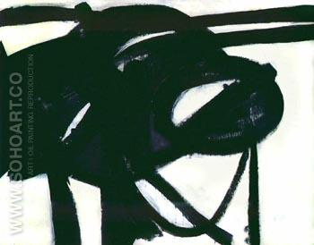 Chief - Franz Kline reproduction oil painting