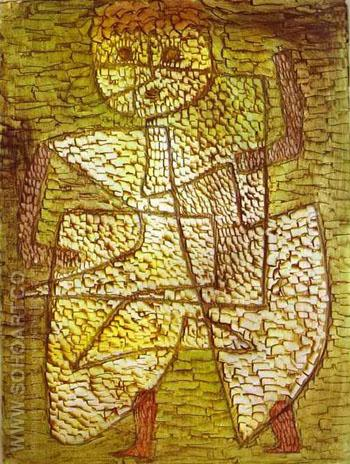 The Future Man - Paul Klee reproduction oil painting