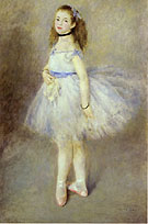 The Dancer 1874 - Pierre Auguste Renoir