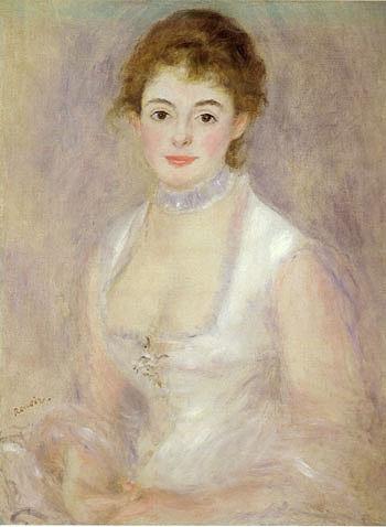 Madam Henriot - Pierre Auguste Renoir reproduction oil painting