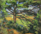 Green Pine Near Aix 1885 - Paul Cezanne reproduction oil painting