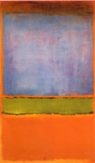 No 6 Violet Green and Red 1951 - Mark Rothko