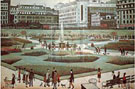 Piccadilly Gardens - L-S-Lowry