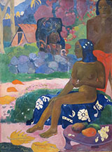 Her Name is Vairaumati - Paul Gauguin reproduction oil painting