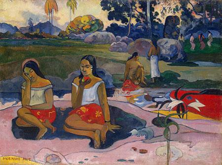 Sweet Dreams Nave Nave Moe - Paul Gauguin reproduction oil painting