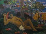 The King's Wife - Paul Gauguin reproduction oil painting