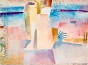 Port of Hammamet - Paul Klee reproduction oil painting