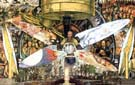 Man at the Crossroads 1934 (Detail) - Diego Rivera