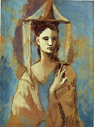 Spanish Woman from Mallorca - Pablo Picasso reproduction oil painting