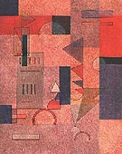 Layers 1932 - Paul Klee reproduction oil painting