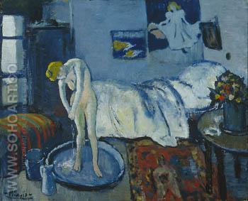 Blue Room 1881 - Pablo Picasso reproduction oil painting