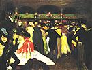 Le Moulin de la Galette 1900 - Pablo Picasso reproduction oil painting