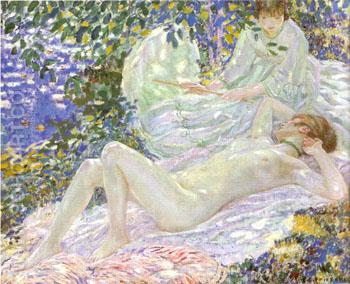 Summer 1914 - Frederick Carl Frieseke reproduction oil painting