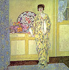 The Yellow Room 1913 - Frederick Carl Frieseke reproduction oil painting