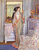 The Robe 1913 - Frederick Carl Frieseke reproduction oil painting